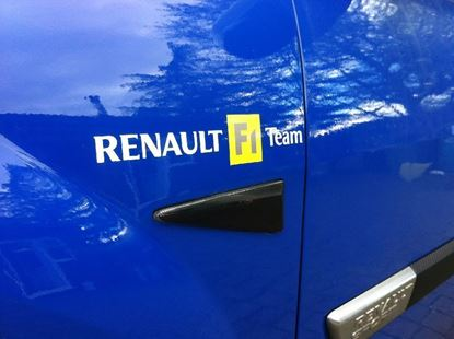 Picture of Renault Megane R26 F1 Team replacement Wing Decals / Stickers