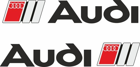 Picture of Audi Decals / Stickers
