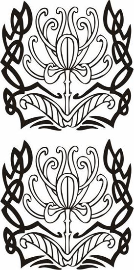 Picture of Tribal Design panel  Stickers / Decals