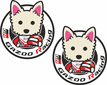 "Picture of ""GR Gazoo Racing""  Decals / Stickers"