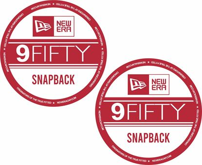 Picture of 9 Fifty Decals / Stickers