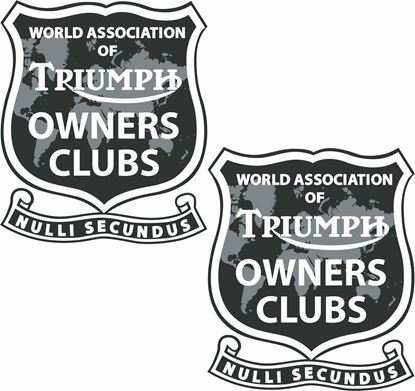 "Picture of ""Triumph Owners Club"" Decals / Stickers"