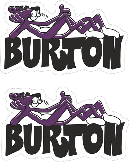 Picture of Burton Decals / Stickers