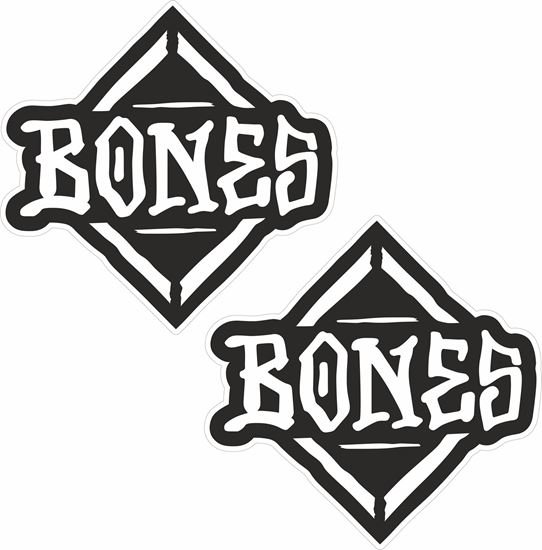 "Picture of Powell Peralta ""Bones"" Decals / Stickers"