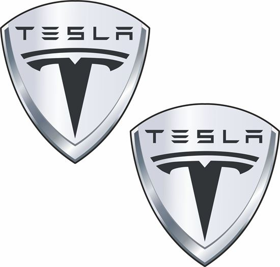 Picture of Tesla Decals / Stickers