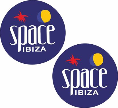 Picture of Space Ibiza Decals / Stickers