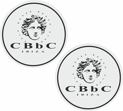 Picture of Cala Bassa Beach Club Ibiza Decals / Stickers