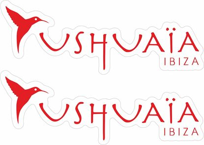 Picture of ushuaia ibiza  Decals / Stickers