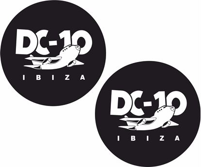 Picture of DC-10 Ibiza Decals / Stickers