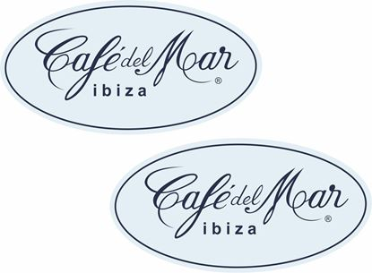 Picture of Cafe del Mar Ibiza Decals / Stickers