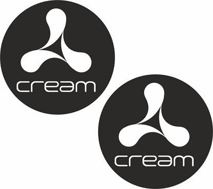 Picture of Cream Decals / Stickers