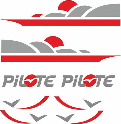 Picture of Pilote Camper Decals  / Stickers kit
