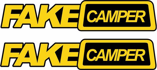 Picture of Fake Camper Decals / Stickers
