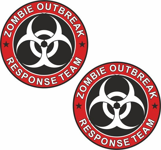 Picture of Zombie Outbreak general panel  Decals / Stickers
