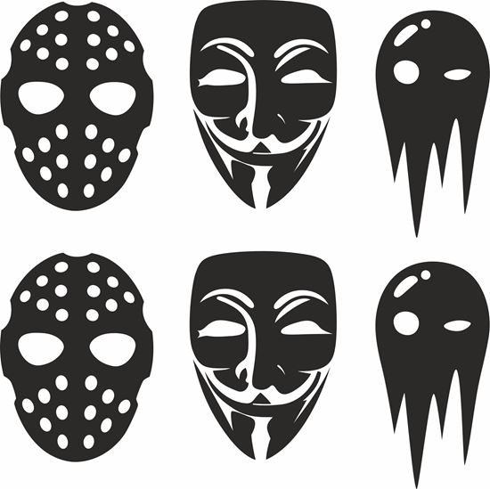 Picture of Mask JDM Decals / Stickers