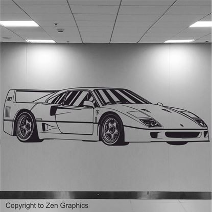 Picture of Ferrari F40 Wall Art sticker