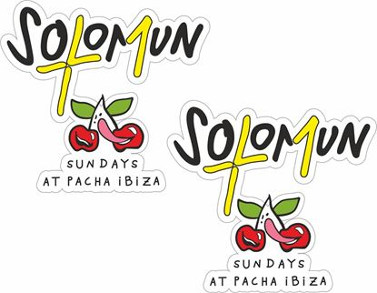 """Picture of Pacha Ibiza """"Solomun Sundays"""" Decals / Stickers"""