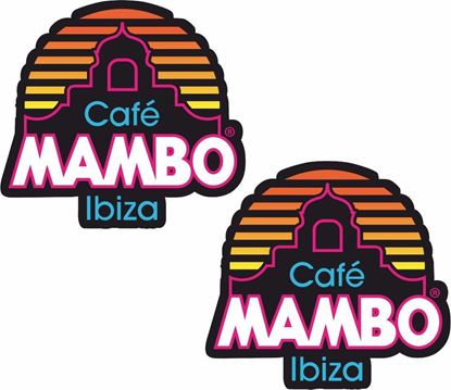 Picture of Cafe Mambo Ibiza Decals / Stickers