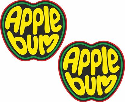 Picture of Apple Bum Decals / Stickers