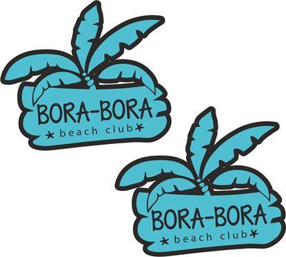 Picture of Bora-Bora Ibiza Decals / Stickers