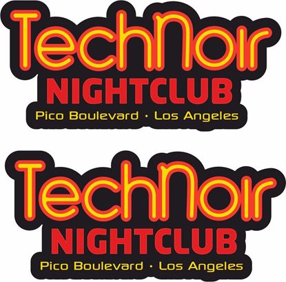 Picture of Technoir Los Angeles Decals / Stickers