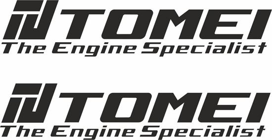 """Picture of """"Tomei"""" Decals / Stickers"""