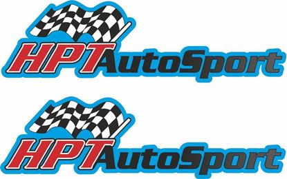 """Picture of """"HPT Auto Sport"""" Decals / Stickers"""