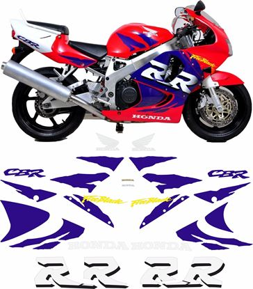 Picture of Honda CBR 900RR full replacement 1998 replacement Decals / Stickers