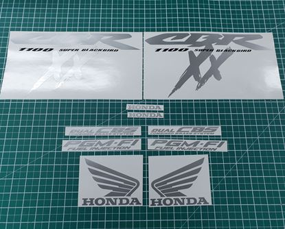 Picture of Honda CBR Super Blackbird 1999  full replacement  Decals / Stickers