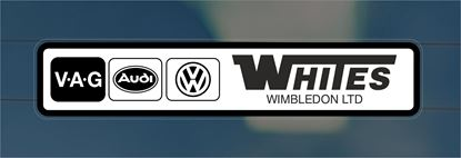 Picture of Whites - Wimbledon Dealer rear glass Sticker