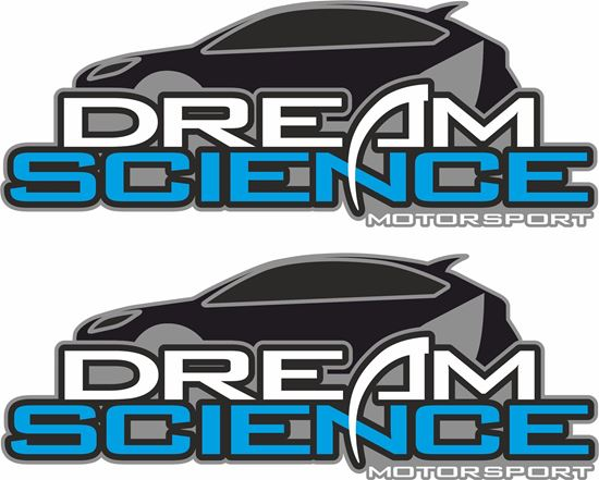 """Picture of """"Dream Science"""" Decals / Stickers"""