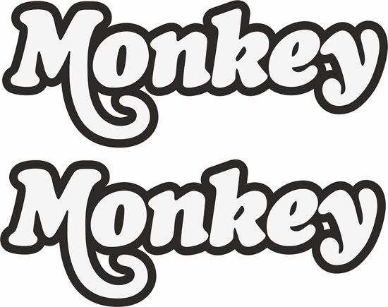 Picture of Honda Monkey Decals / Stickers
