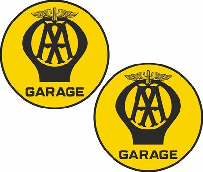 Picture of AA Garage Decals / Stickers