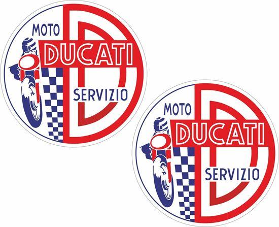 Picture of Ducati Servizio Decals / Stickers