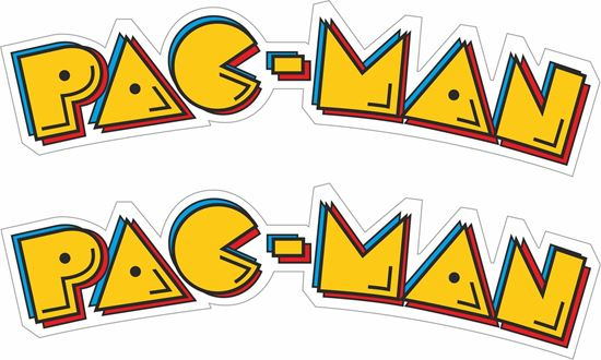 "Picture of ""Pac-Man""  Decals / Stickers"