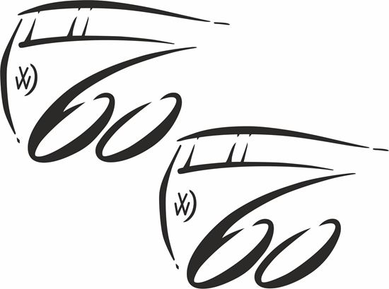 Picture of Transporter 60 Years Anniversary General panel Decals / Stickers