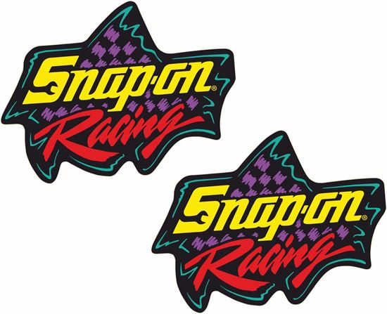 """Picture of """"Snap-On Racing"""" Decals / Stickers"""