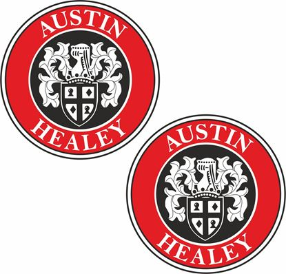Picture of Austin Healy general panel  Decals / Stickers