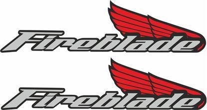 Picture of Honda CBR Fireblade Decals / Stickers