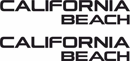 Picture of T5 California Beach replacement Decals / Stickers