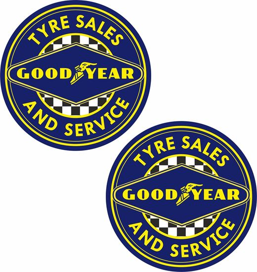 Picture of Good Year general panel Decals / Stickers