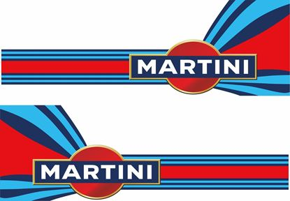 Picture of Martini Stickers / Decals
