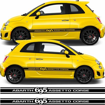 Picture of Fiat 695 Assetto Corse side Stripes / Stickers
