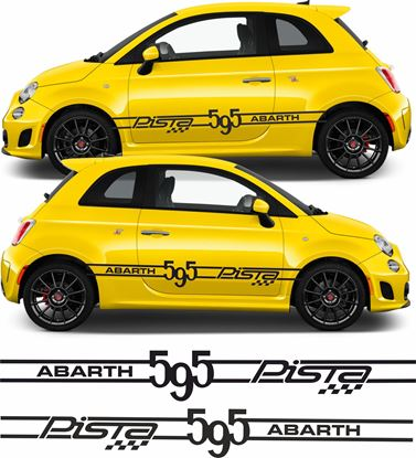 Picture of Fiat 595 Abarth Pista side Stripes / Stickers