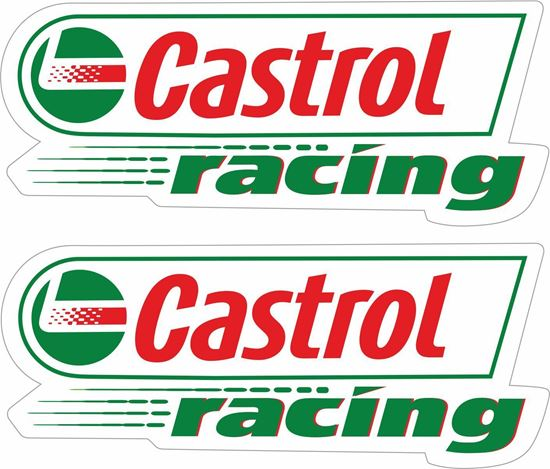 """Picture of """"Castrol Racing"""" Decals / Stickers"""