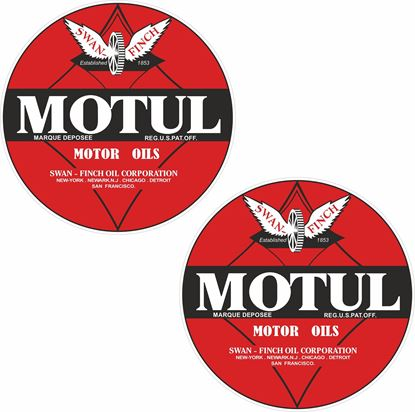 Picture of Motul Oils Decals / Stickers