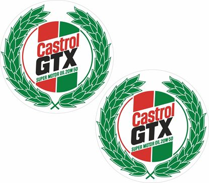 Picture of Castrol GTX Decals / Stickers