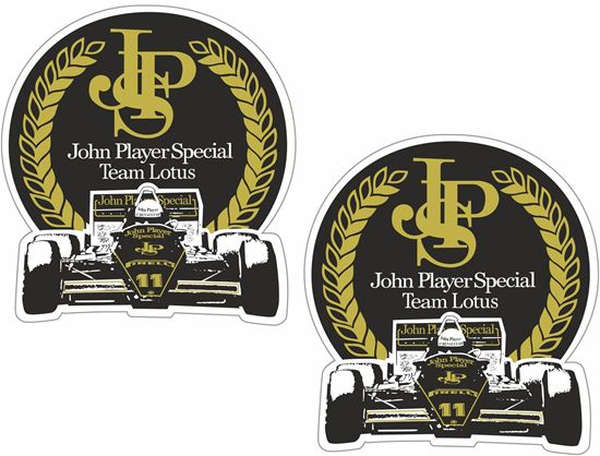 "Picture of ""JPS"" John Player Special Lotus Decals / Stickers"