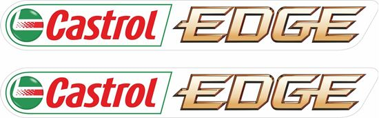 """Picture of """"Castrol Edge"""" Decals / Stickers"""