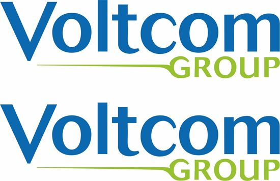 "Picture of ""Voltcom Group""  Suzuki Track and street race sponsor Decals / Stickers"